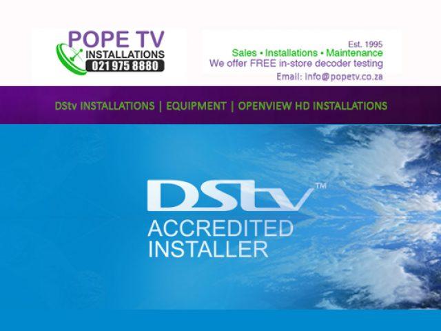 Pope TV Installations